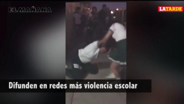 Difunden en redes más violencia escolar en secundaria Escandón