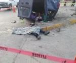Una muerta y 17 heridos en volcadura, en Altamira