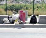 Dejan basura en lugares prohibidos