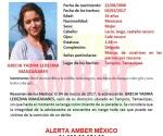 Activan Alerta Amber por desaparición de jovencita