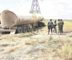 Detectan gendarmes toma clandestina de combustible