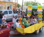 Participan kinders en desfile de primavera