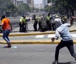 Choques en Venezuela dejan decenas de heridos