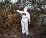 Gendarmes descubren hidrocarburo escondido en la maleza
