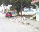 Denuncian grave foco de contaminación en una calle