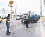 Registra tránsito 14 accidentes el sábado