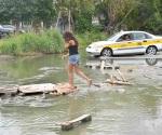 Reparan red de drenaje en La Campestre
