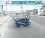 Reportan menos accidentes