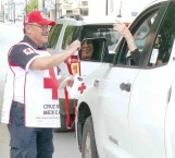 Continúa colecta Cruz Roja