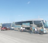 Retrasa llegada de pasajeros
