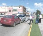 Falta de señales viales son causa de accidente