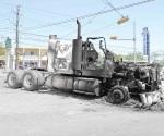 Sostiene Tránsito que sí retiraron autos quemados