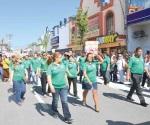 Sigue firme desfile del día del trabajo