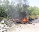 Queman con intención  basureros clandestinos