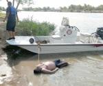 Rescatan cuerpo de ahogado en el río