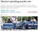 México, segundo país más letal