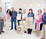 Inauguran exposición escultórica del reynosense Gabriel Fuentes