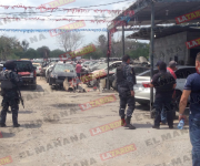 Inicia operativo de revisión de yonkes en Reynosa, para detectar vehículos robados