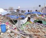 Colapsa muro en boda: 24 muertos