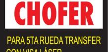 EMPRESA TRANSPORTISTA, SOLICITA: