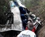 Buscan a 4 desaparecidos en accidente de Chiapas