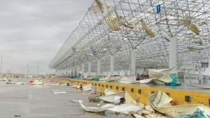 Devastador tornado, zonas sin luz ni agua