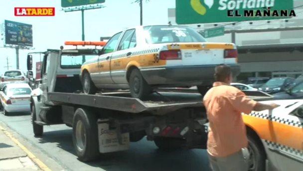 Habrá depuración de padrón a taxistas