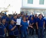 Realizan paro en empresa de Río Bravo por conflicto sindical