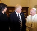 El Papa desea que Trump sea instrumento de paz