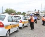 Anuncian operativo contra taxis 'piratas'