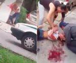 Mujer se golpea hasta quedar inconsciente en Cancún