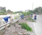 Limpian cuadrillas de Servicios Primarios calles y avenidas de la ciudad
