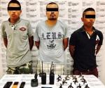 Detiene PGJ a 3 'halcones' durante recorrido de vigilancia en Reynosa