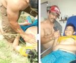 Rescatan a niño del Bravo a punto de morir ahogado