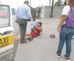 Epiléptica sufre un ataque en plena calle