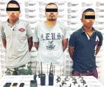 Califican de legal arresto de los tres presuntos halcones