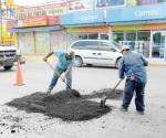 Intensifica ayuntamiento de Reynosa reparación de pavimento