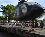 Dona la Marina  helicóptero a UNAQ
