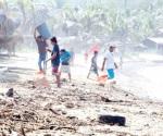 Se suma PF a ayuda aérea para Oaxaca