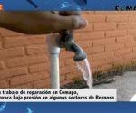 Corta fuga presión en servicio de agua