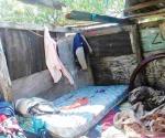 Vientos y granizo dañan viviendas de pescadores