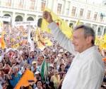 Viajan a reunión con López Obrador