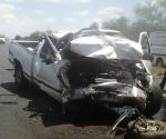 Un muerto y dos lesionados en fatal choque carretero