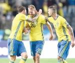 Remonta Suecia y vence a Francia