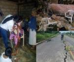 Sismo deja 2 muertos y 5 heridos en Guatemala