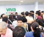 Causa Vivaaerobus caos en CDMX