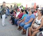 Anuncia Maki Ortiz pavimentación hidráulica y cárcamo en La Joya
