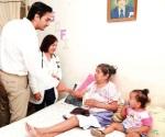 Visita DIF familias en colonias
