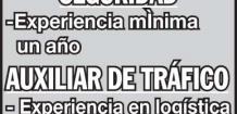 EMPRESA TRANSPORTISTA, SOLICITA: