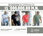 Recompensa por 4 sicarios en Veracruz
